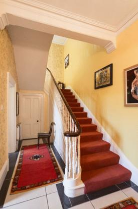 hall and stair...