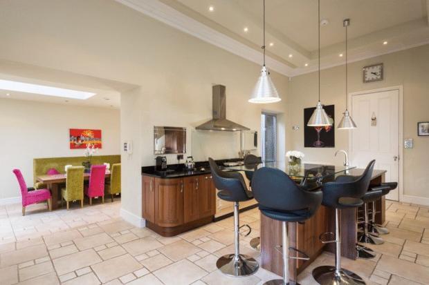 kitchen and ga...