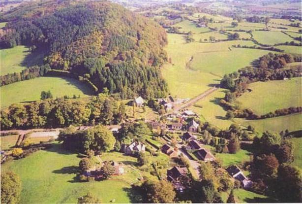 Aerial View of Bwlch