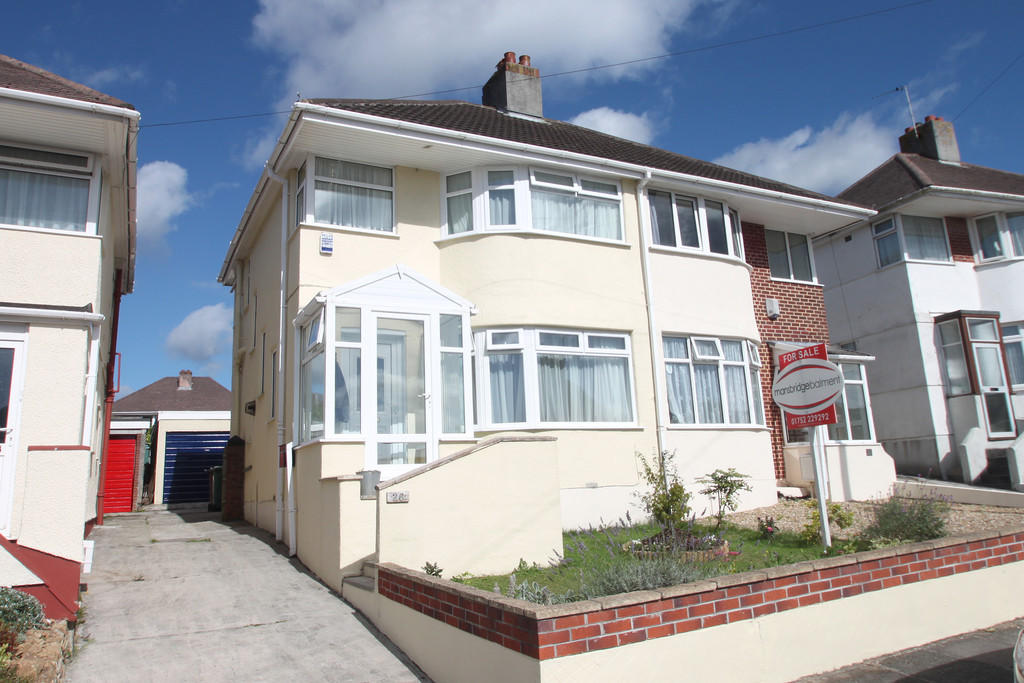 3 bedroom semi detached house for sale in weston mill 3 bedroom houses for sale in plymouth