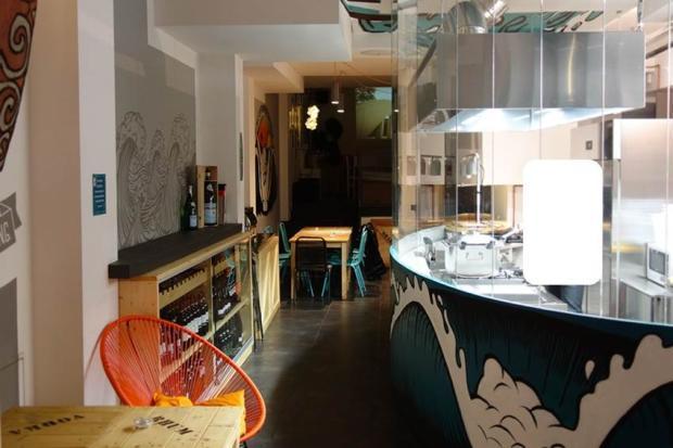 Visible kitchen
