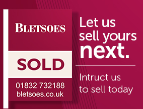 Get brand editions for Bletsoe Estate Agents, Thrapston