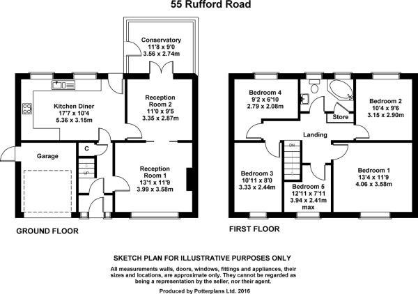 55 Rufford Road Plan