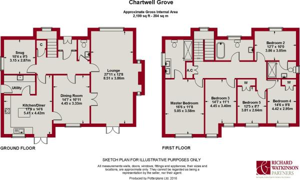 Chartwell Grove Plan