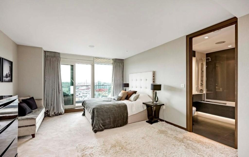 Battersea Reach,Master Bedroom