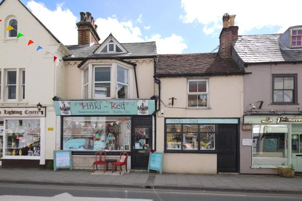 shop for sale in two freehold shops with apartment above