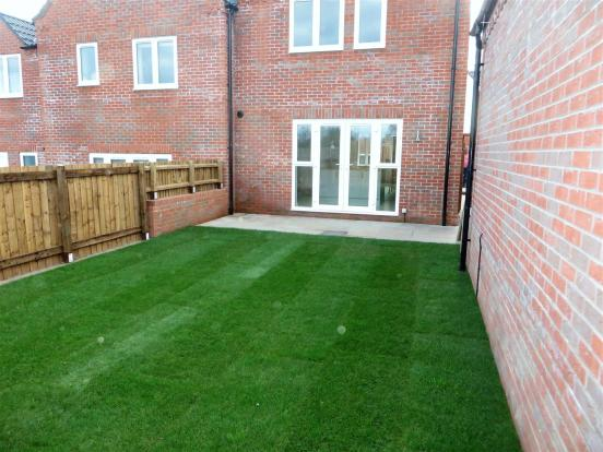 plot 13 rear patio d