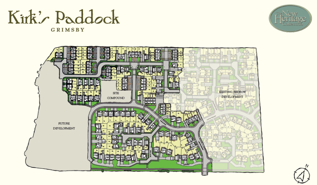 Kirk 39 s paddock new homes development by redrow homes - Linwood swimming pool opening times ...