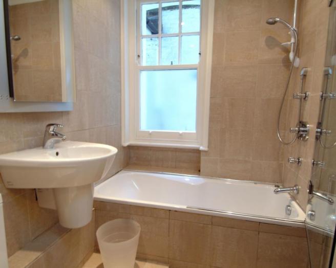 Sink bathroom design ideas photos inspiration for Brown and beige bathroom ideas