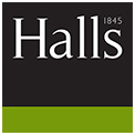 Halls Estate Agents, Worcester logo