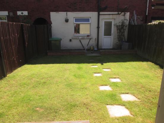 Rear Garden Picture