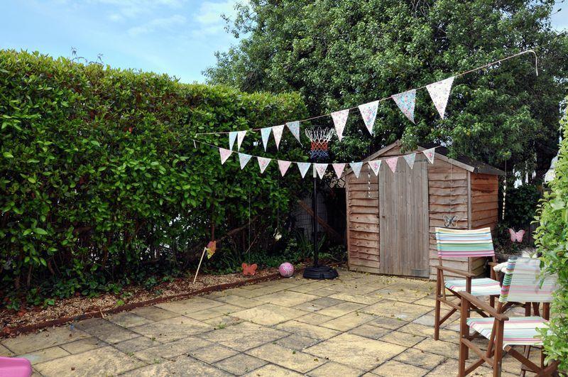 Private garden...