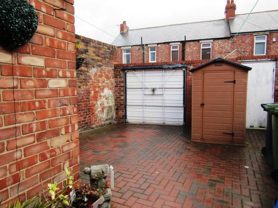 Rear Yard With Off Street Parking