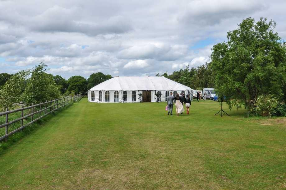 Lawns for marquees