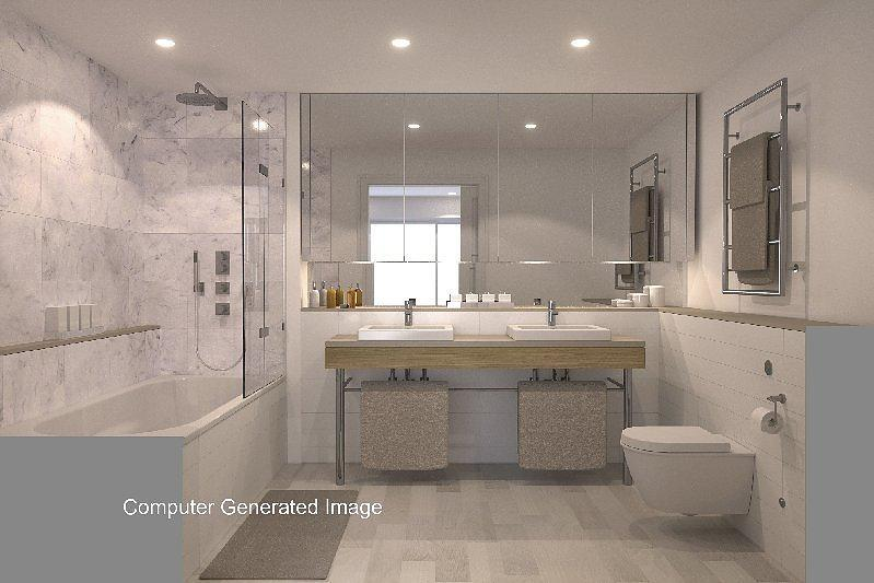 CGI of typical Bathroom