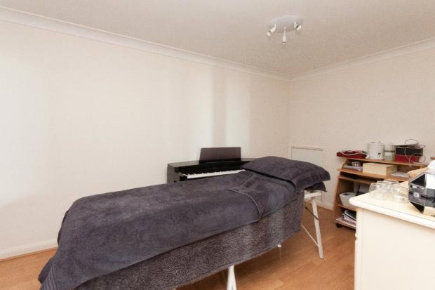 spare room/office