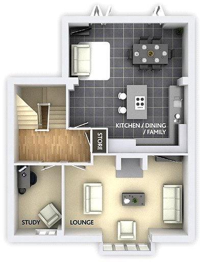 ground - floorplan