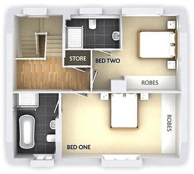 first - floorplan