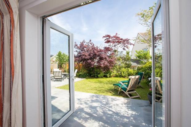 doors to garden