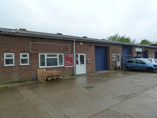 Double factory unit with mezzanine, Attleborough,