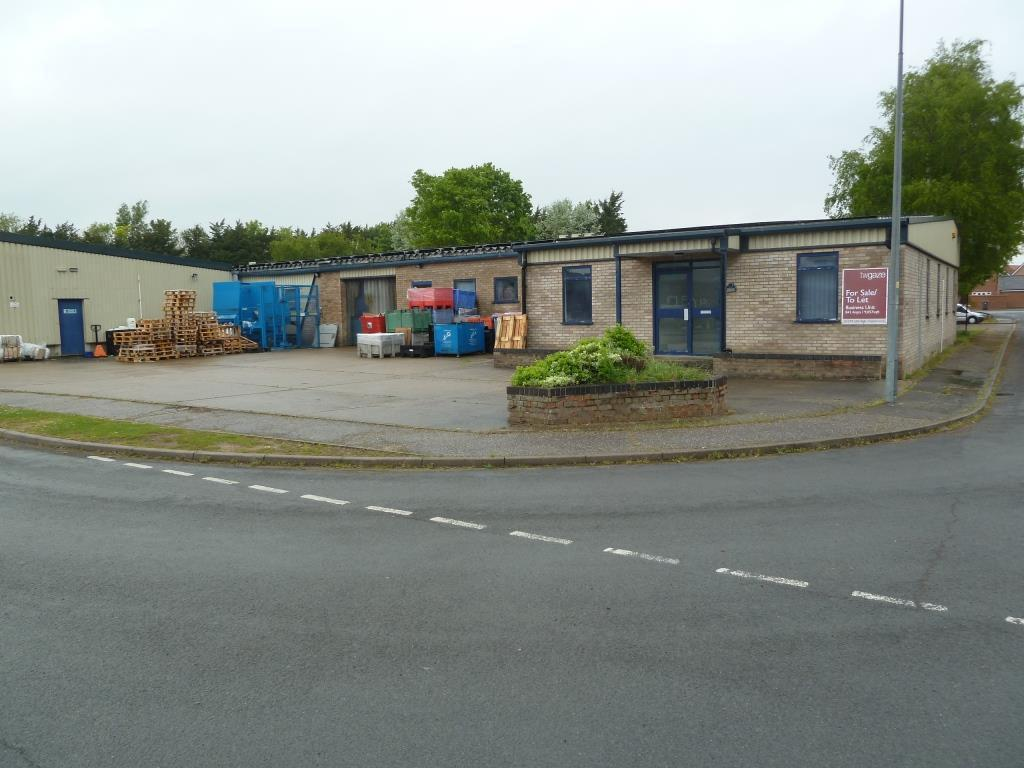 Factory unit with a/c offices, Attleborough,