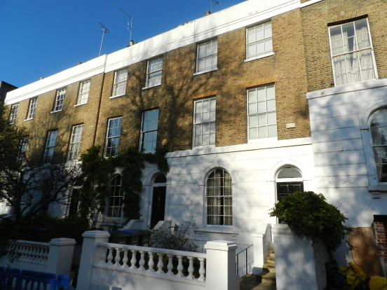Hyde Vale - Studio Flat - Street View - SE10 - Oliver Field Associates