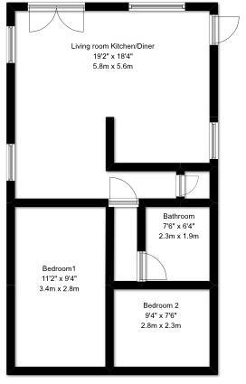 Juniper Lodge Floorplan