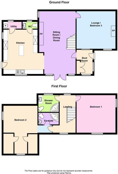 floor plan Glynderi,