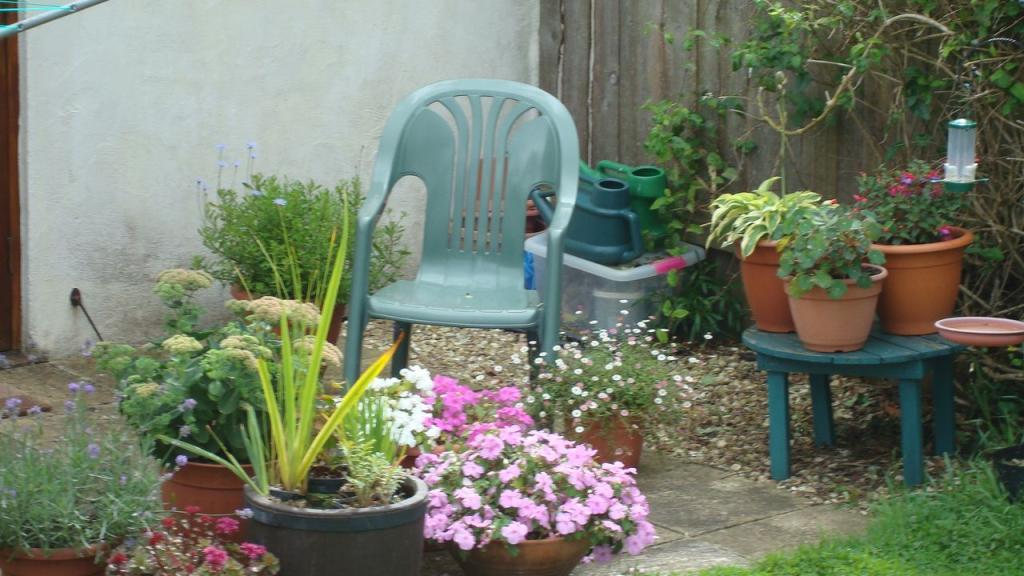 patio of a gardener!