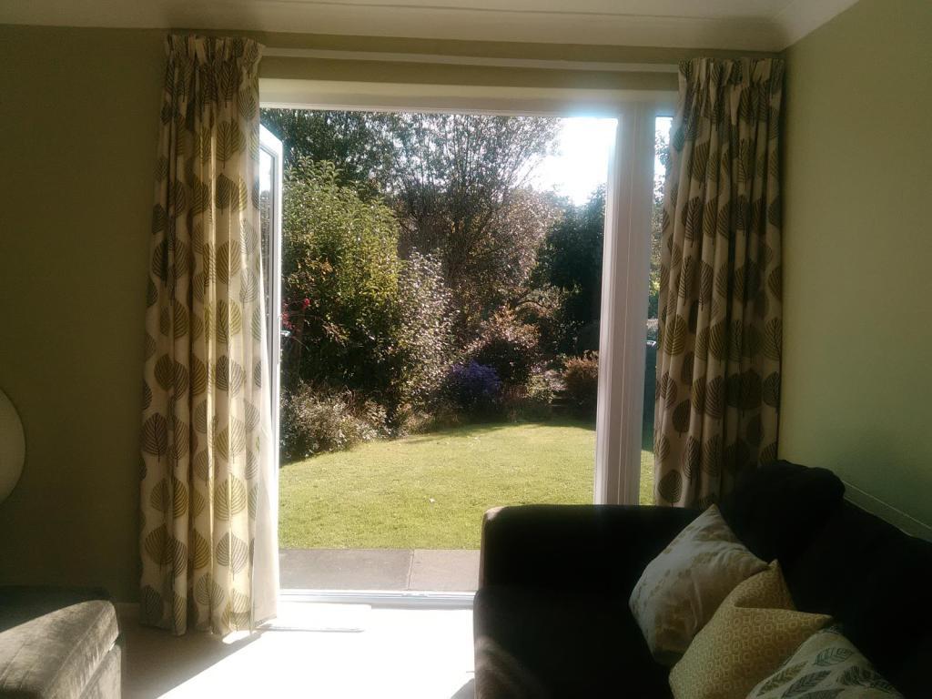 Lounge garden view