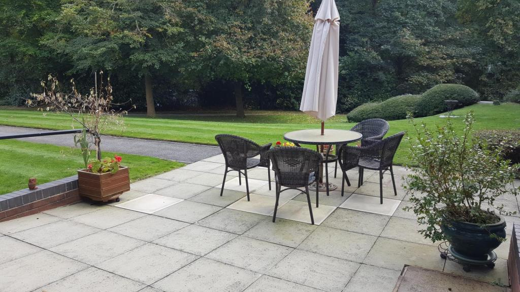 One of the patios
