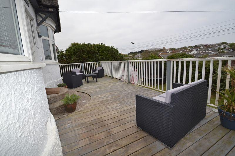 Front Decked Area
