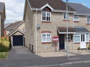 3 bedroom semi detached home in Woodmill Close...