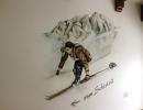 To the ski room