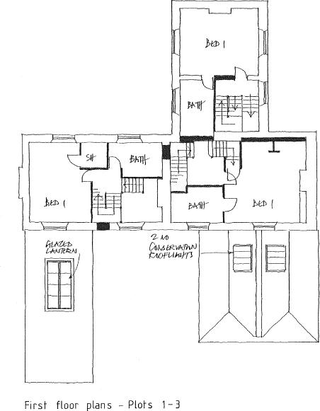 First floor plots...