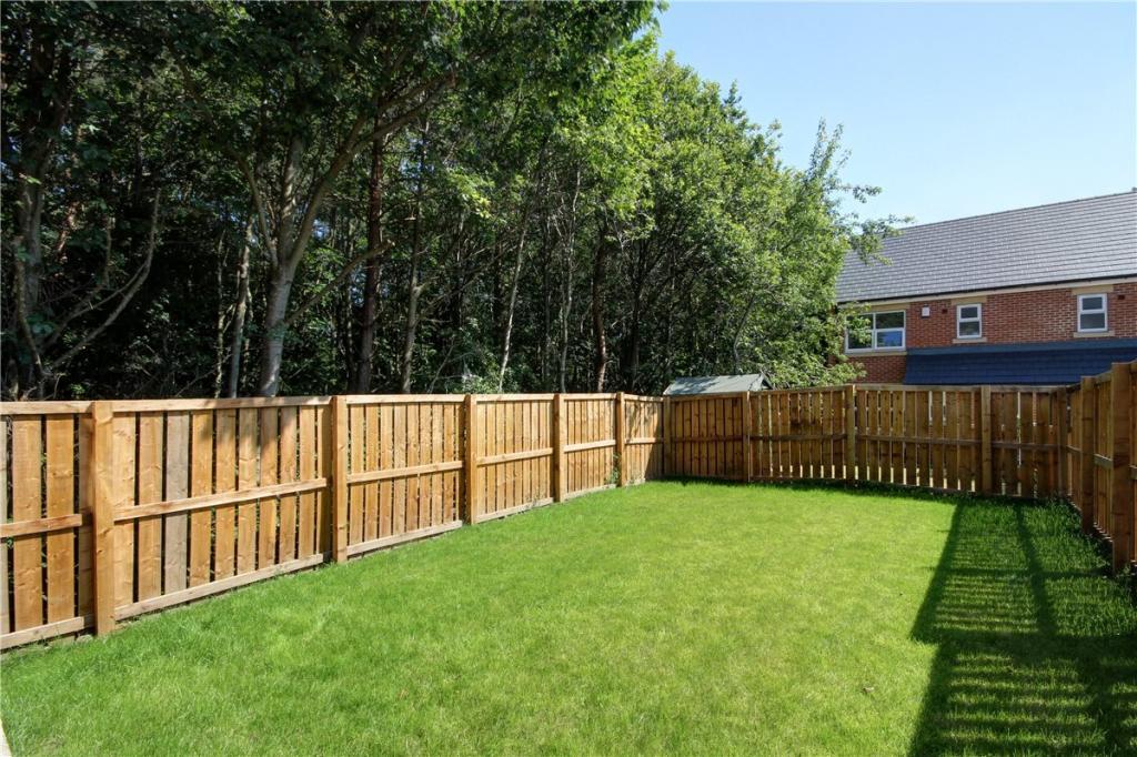 Back Garden Plot 8