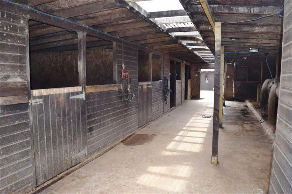 Indoor stables and s