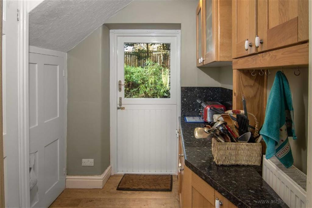 Rear Door & Stairs A