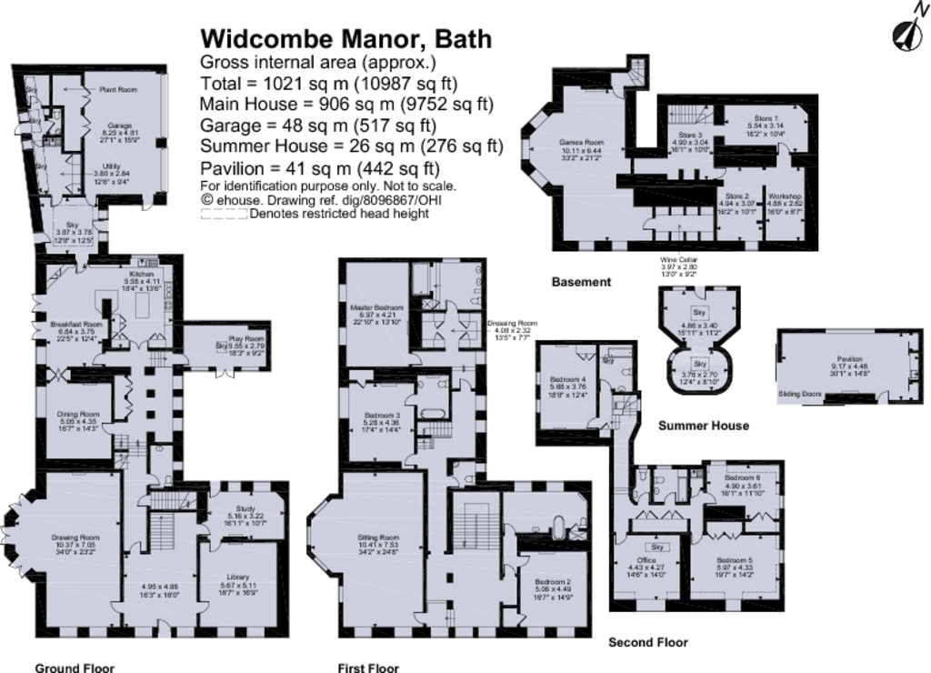 6 bedroom detached house for sale in widcombe manor bath ba2 for Manor floor plans