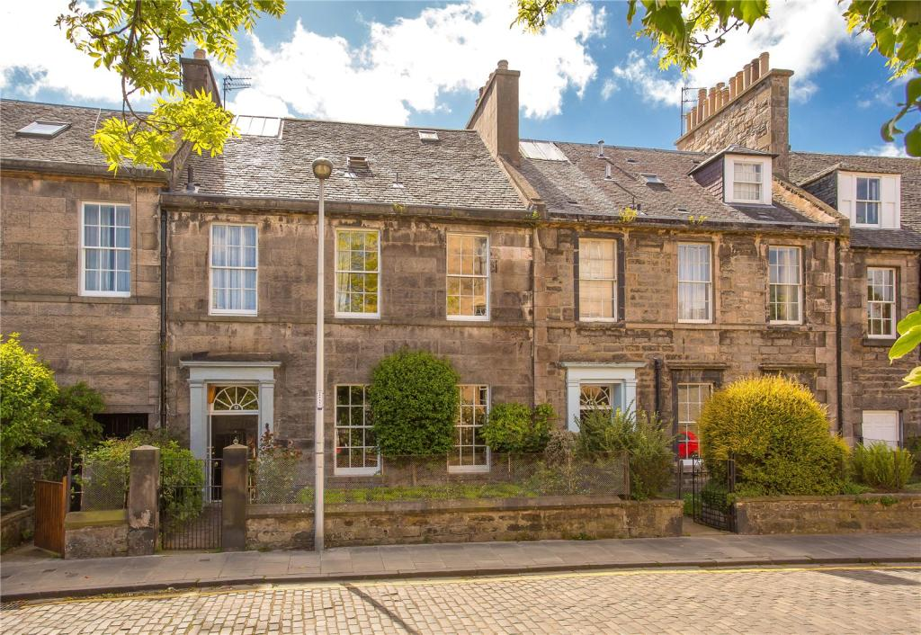 5 bedroom terraced house for sale in 12 st bernards row for Garden shed edinburgh sale