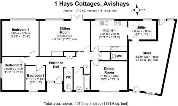 1 Hays Cottages