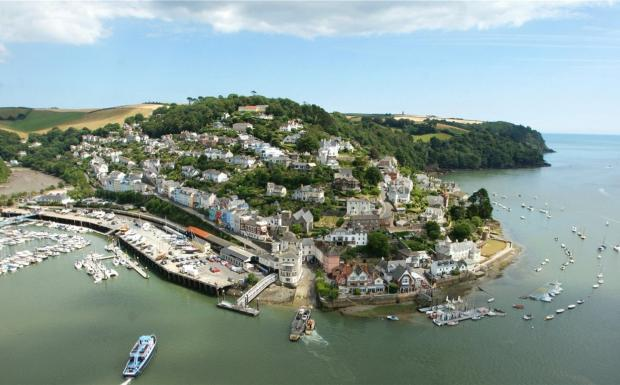 Kingswear From Air