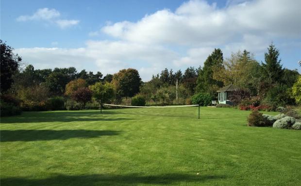 Grass Tennis Court