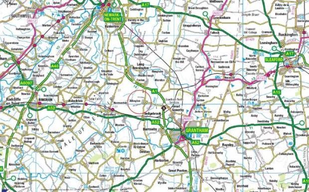 Allington Location