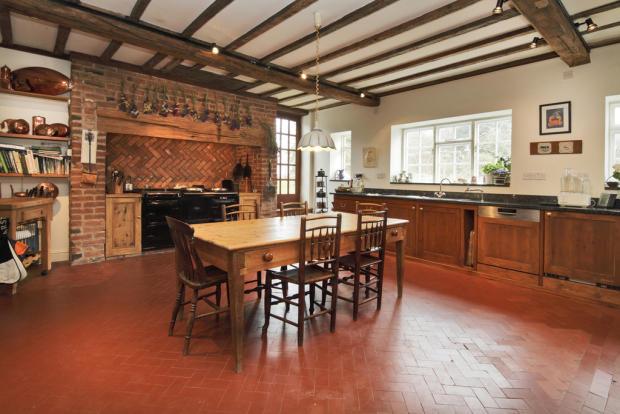 Farmhouse Kitchen...