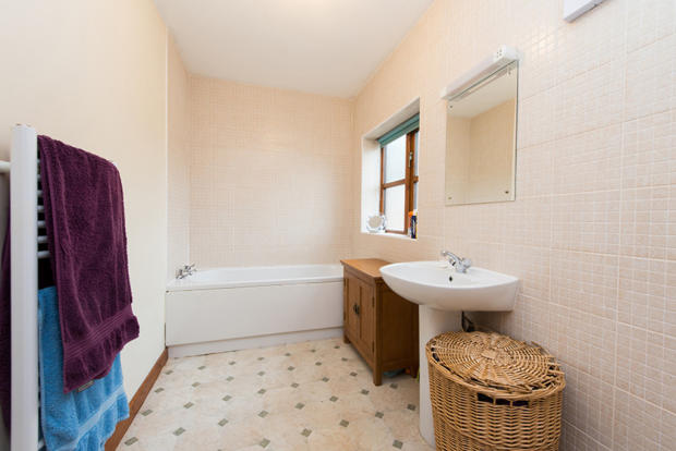 First Floor Bathroom, South End Cottage