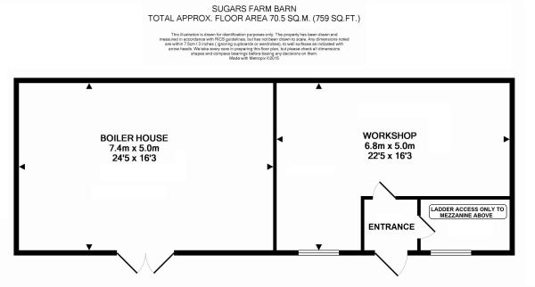 Floor plan barn