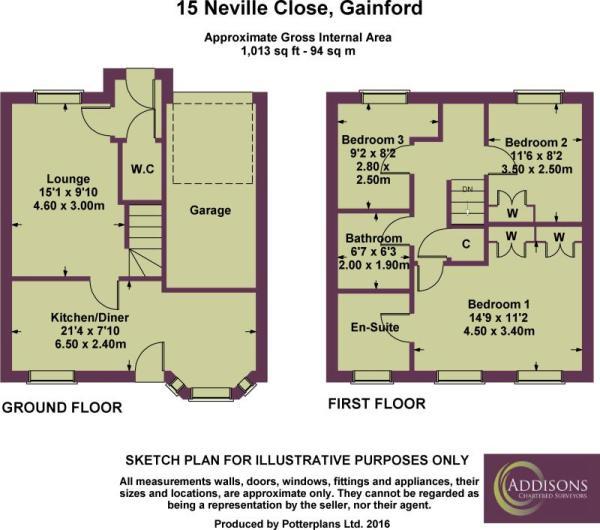 15 Neville Close Plan