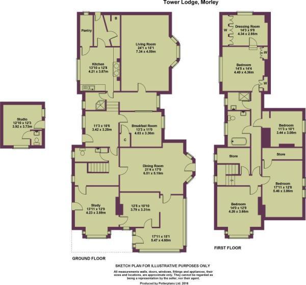 Tower Lodge Plan