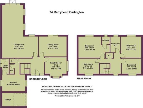 74 Merrybent Plan
